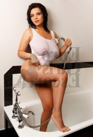 Michaele nuru massage and escort girl
